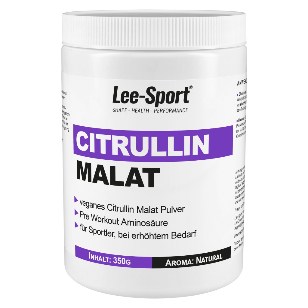 Citrullin Malat Pulver, 100% vegan, günstig kaufen! | Lee