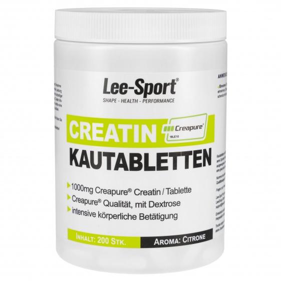 Creatin Kautabletten, 100% Creapure® Creatin