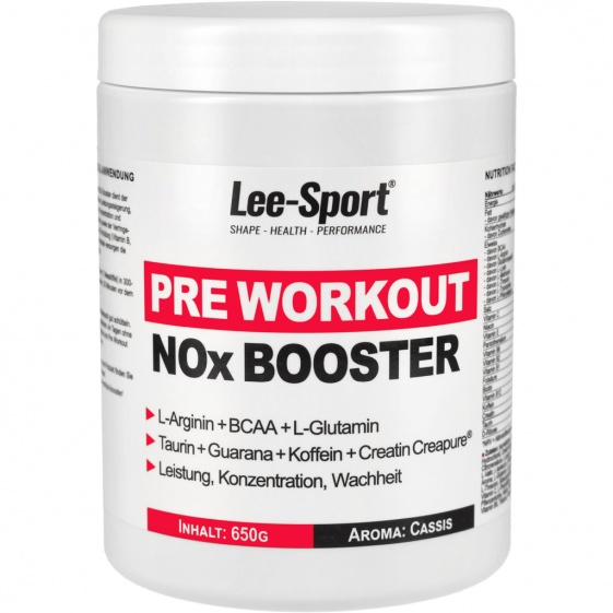 Pre Workout NO-X Booster