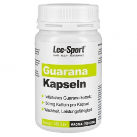 Guarana Kapseln, Nutrition Facts
