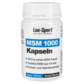 MSM 1000 Kapseln