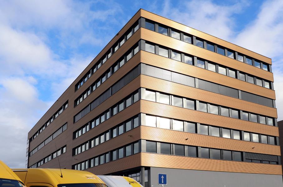 Geschäftssitz, Produktion und Logistik in Rothenburg.