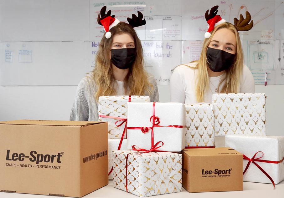 Weihnachtsstimmung bei Lee Sport.